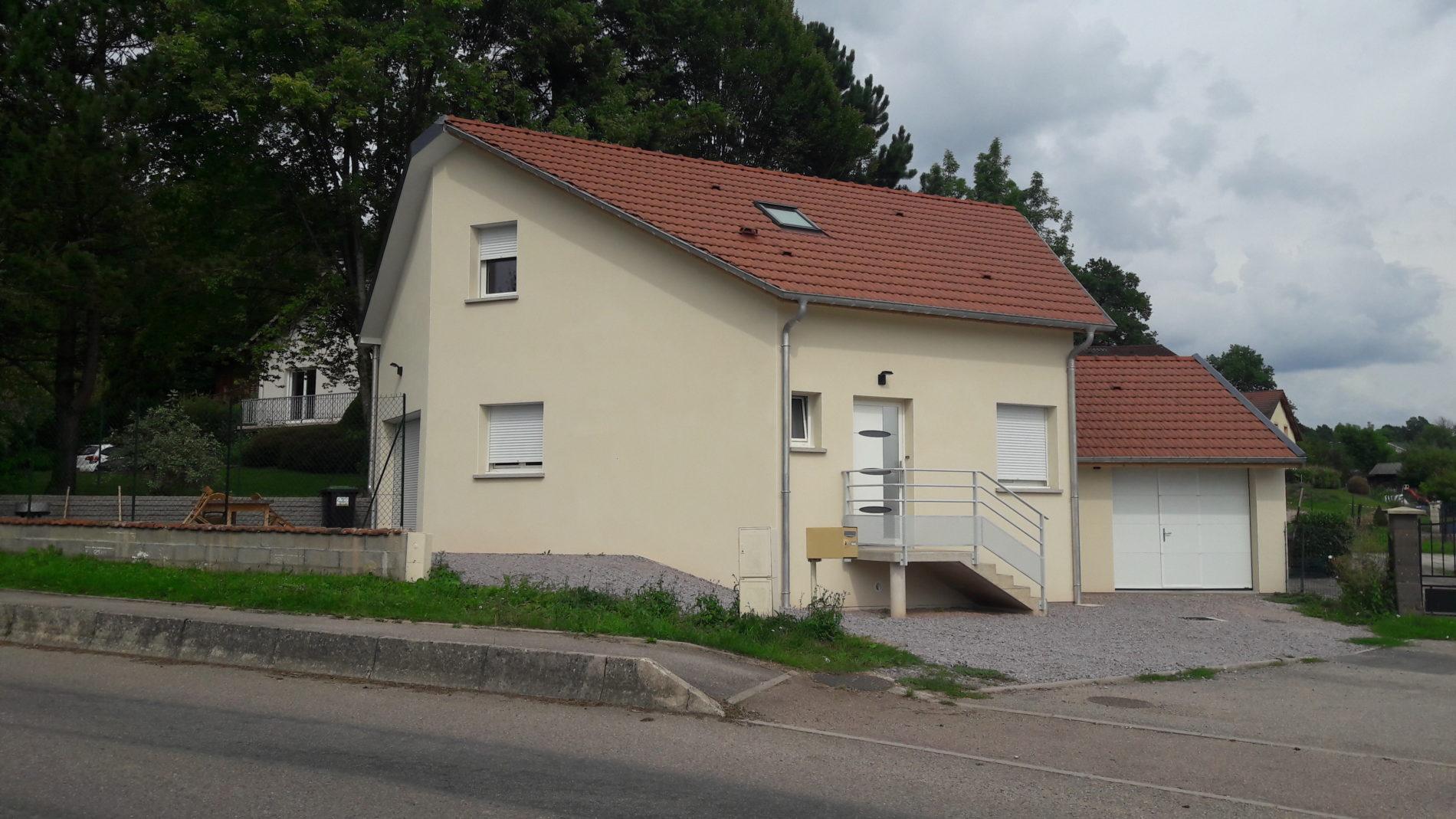 Reconstruction d'une maison individuelle