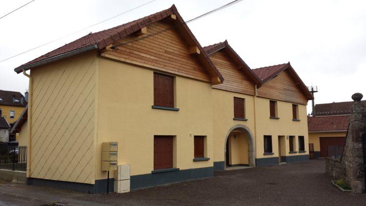 Rénovation d'un bâtiment collectif - Le Val d'ajol