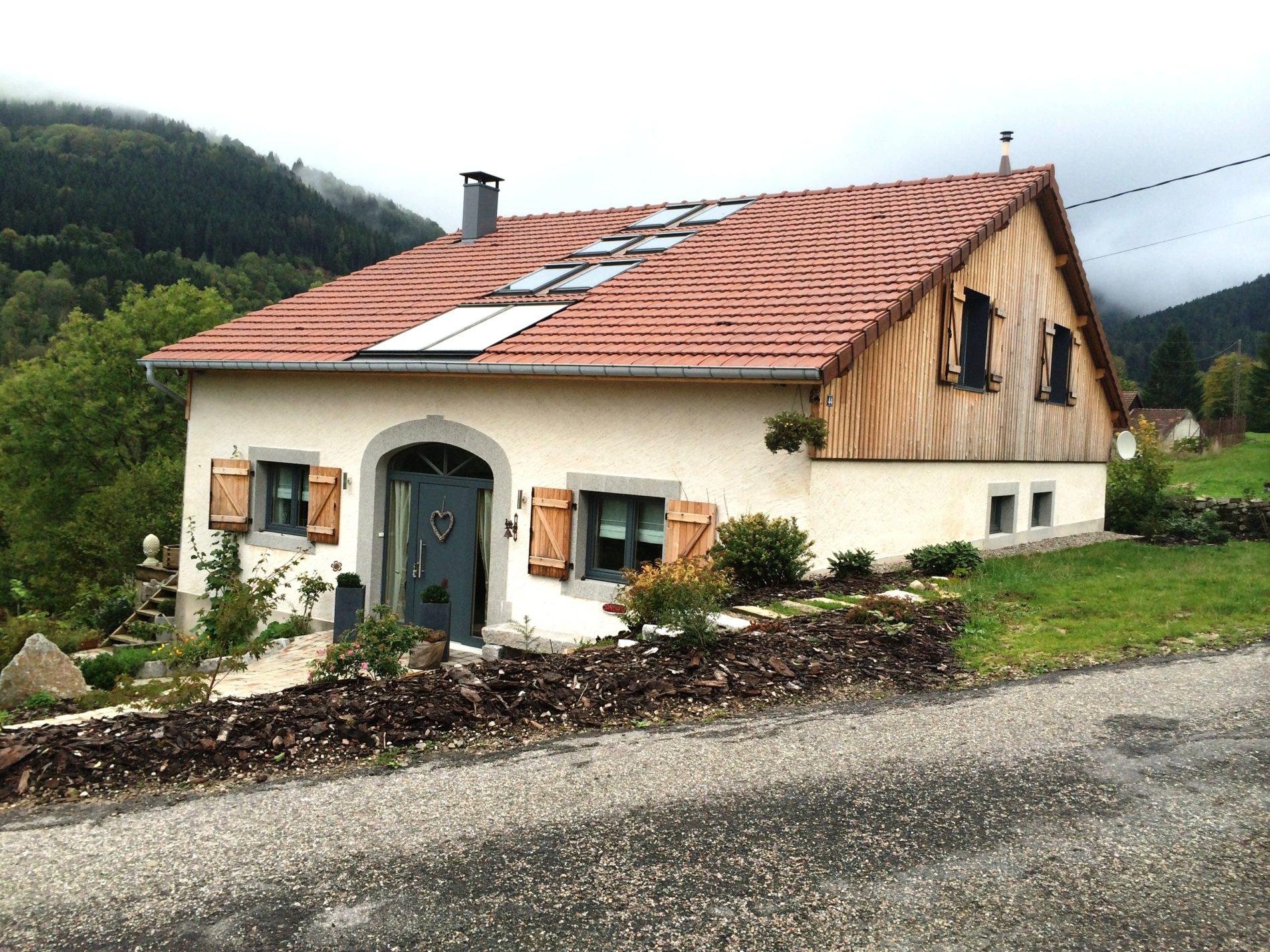 Rénovation d'une ferme typique des Hautes-Vosges