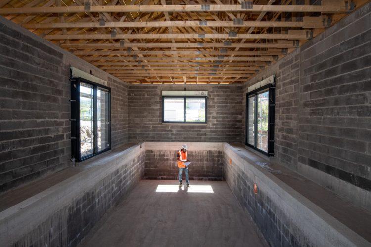 Agrandissement d'une maison d'habitation avec piscine (suivez le chantier dans la page Actualités...)