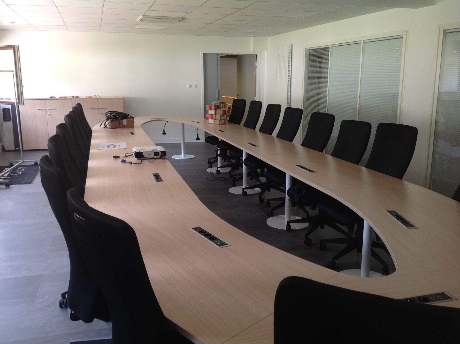 Création salle de réunions  PRYSMIAN  - Cornimont